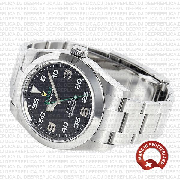 Rolex Air King 40mm 904L Steel High Quality Replica Watch
