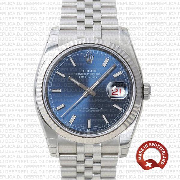 Rolex Datejust 36mm Blue Dial | High Quality Rolex Replica