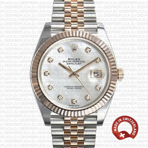 Rolex Datejust 41mm Two-Tone Jubilee Clone Rolex Watch