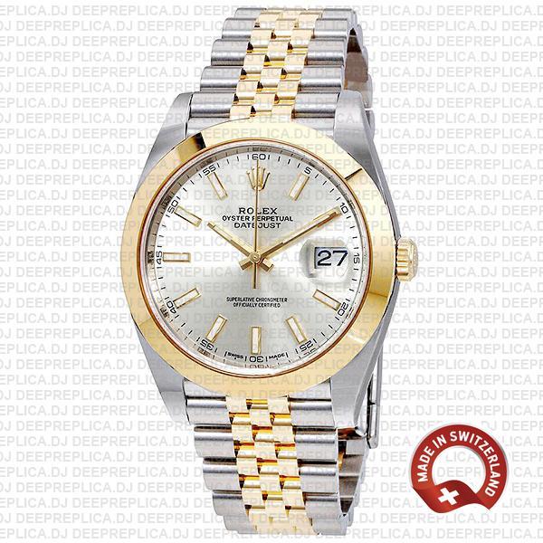 Rolex Datejust 41 Jubilee Two-Tone Best Rolex Replica Watch