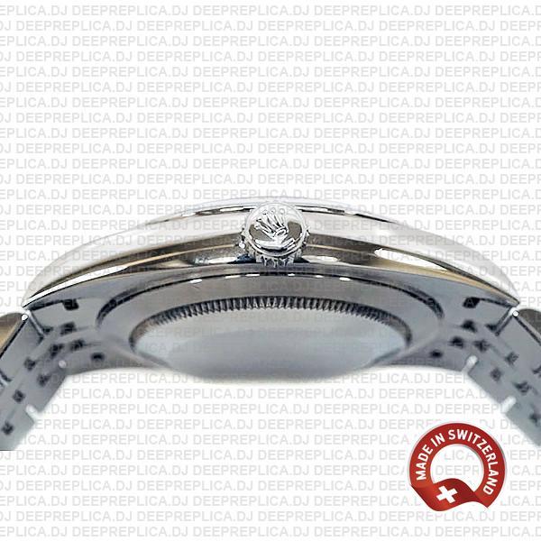 Rolex Datejust 41 Jubilee Steel 18k White Gold Swiss Replica