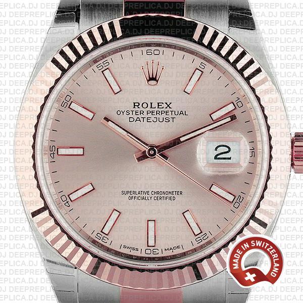 Rolex Datejust 41mm Two-Tone   High Quality Supreme Replica