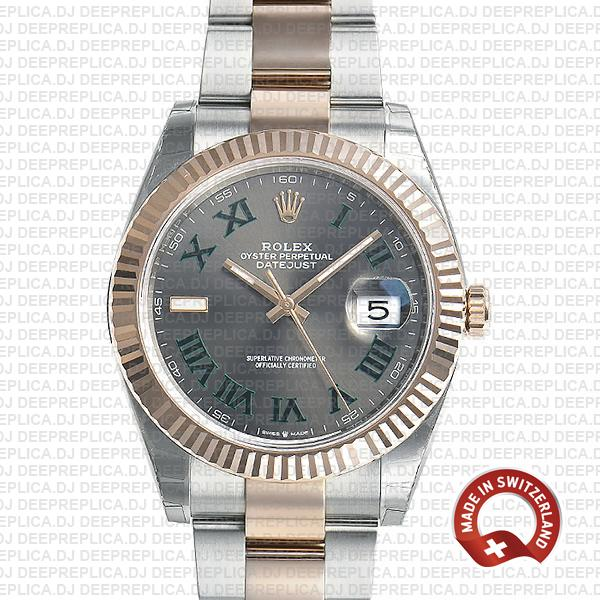 Best Rolex Datejust 41 Two-Tone Roman Dial Replica Watch