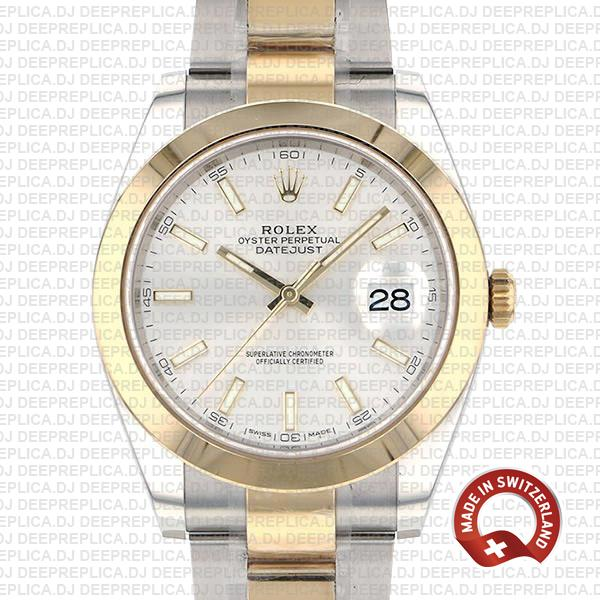 Rolex Datejust 41 Two Tone High Quality Swiss Replica Watch