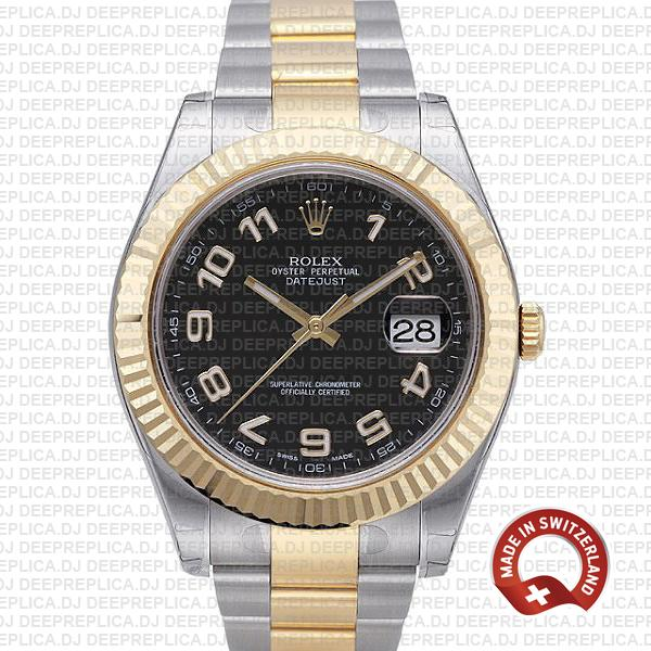 Rolex Datejust ΙΙ Two-Tone Arabic Dial | Swiss Replica Watch