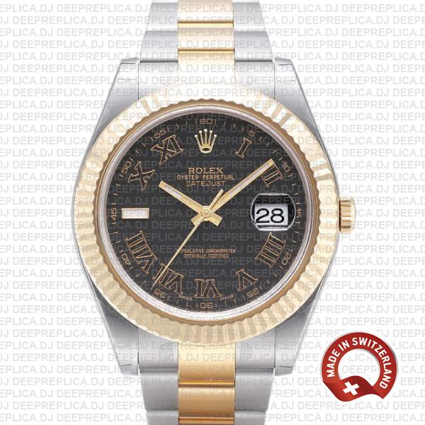 Rolex Datejust ΙΙ Two-Tone Gold 41mm | Best Replica Watch