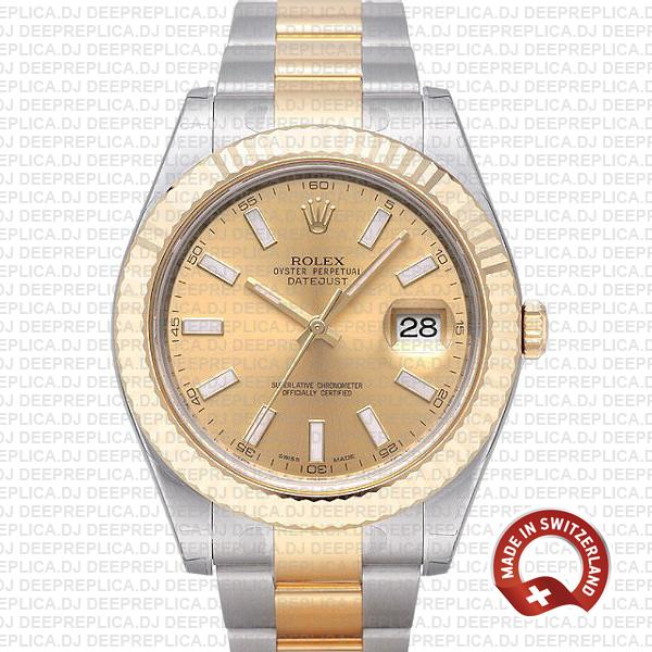 Rolex Datejust ΙΙ Two-Tone Gold Dial | Best Replica Watch