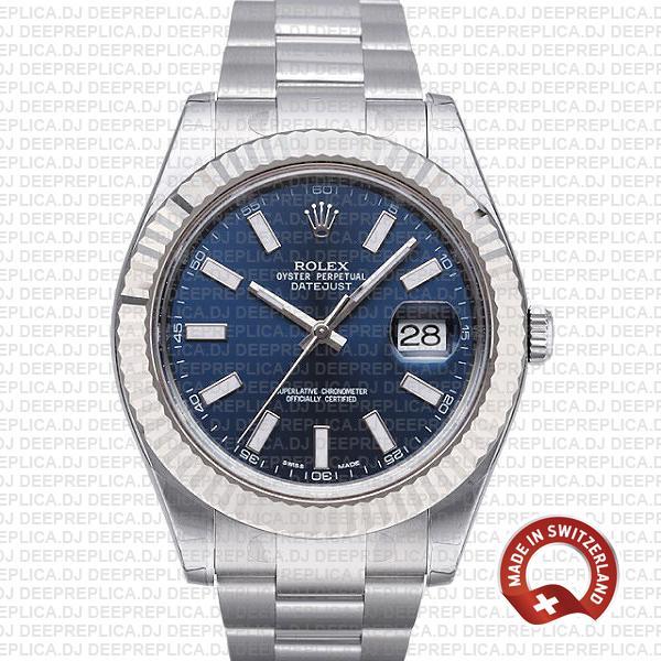 Rolex Datejust ΙΙ 41 Oyster Bracelet Best Rolex Swiss Replica