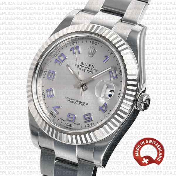 Rolex Datejust ΙΙ 41mm Silver Arabic Dial   Swiss Made Replica