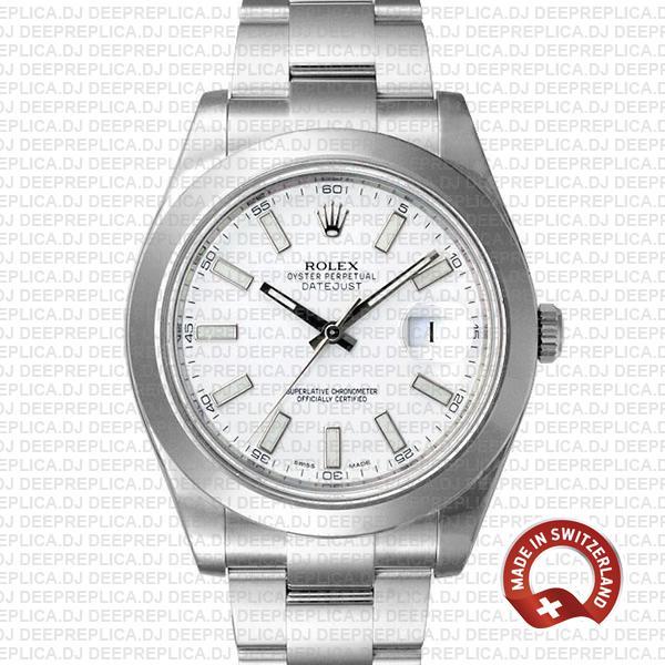 Rolex Datejust II White Dial 904L Steel | Rolex Replica Watch