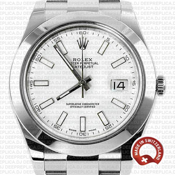 Rolex Datejust II White Dial 904L Steel   Rolex Replica Watch