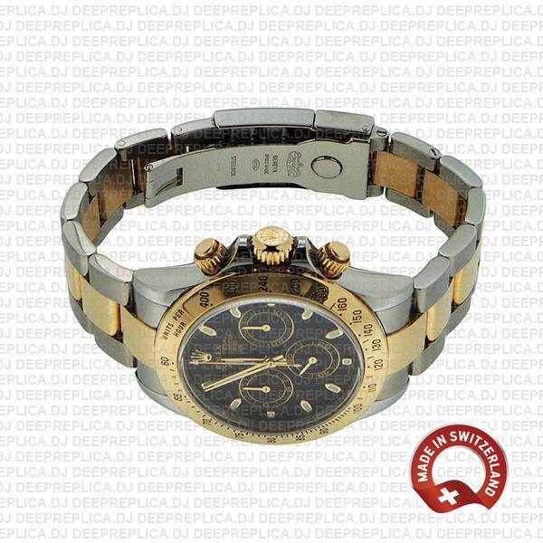Rolex Daytona 2 Tone Black 40mm 116523