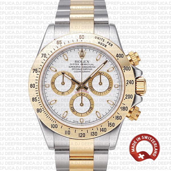 Rolex Daytona Two-Tone 18k Yellow Gold | Best Replica Watch
