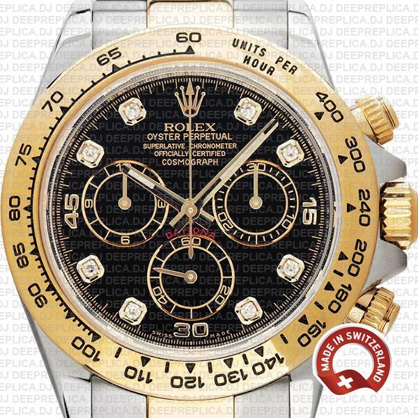 Rolex Daytona 40mm Diamond Dial | Best Rolex Replica Watch