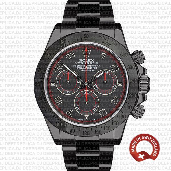 Rolex Daytona DLC Black Dial | High Quality Replica Watch