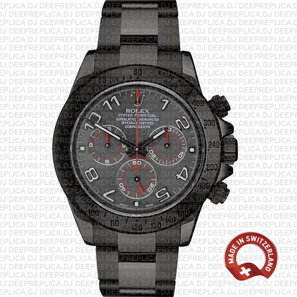 Rolex Daytona DLC Arabic Lumen Dial   Best Replica Watch