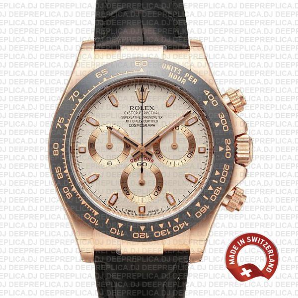 Rolex Daytona Black Ceramic Bezel | Best Fake Rolex Watch