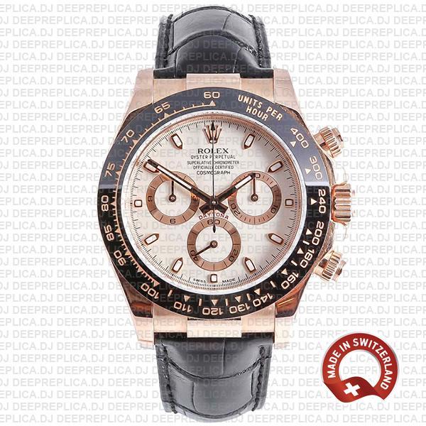 Rolex Daytona Black Ceramic Bezel Best Fake Rolex Watch