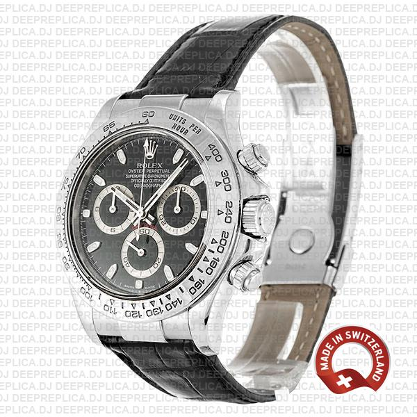 Rolex Daytona Vintage Paul Newman 904L Stainless Steel, Green Dial 40mm with Oyster Bracelet Replica Watch