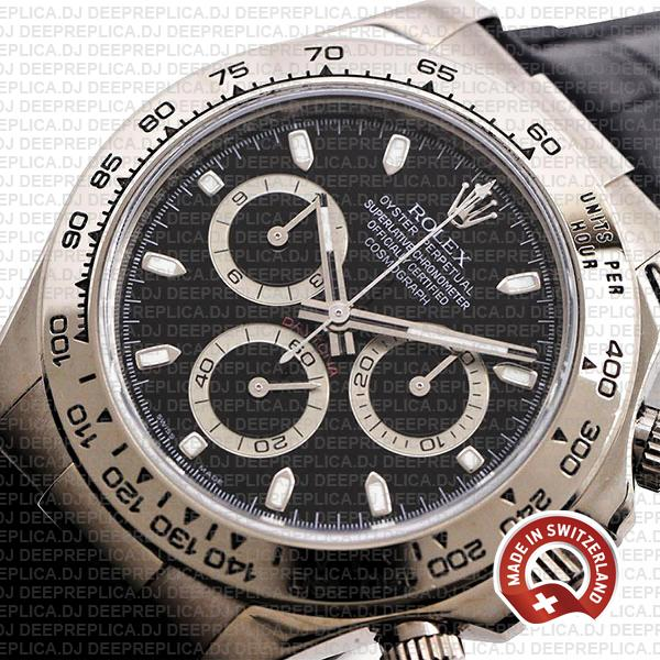 Rolex Daytona Vintage Paul Newman 904L Stainless Steel, Green Dial 40mm with Oyster Bracelet Replica