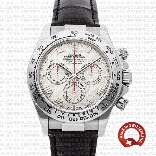 Rolex Daytona Meteorite Roman Dial | Best Swiss Replica Watch