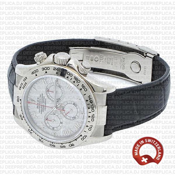 Rolex Daytona Meteorite Roman Dial Best Swiss Replica Watch