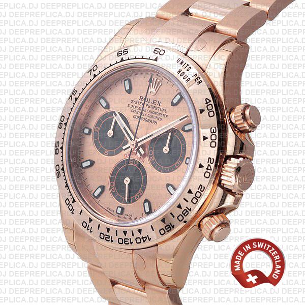 Rolex Daytona Rose Gold Panda Gold 40mm 116505