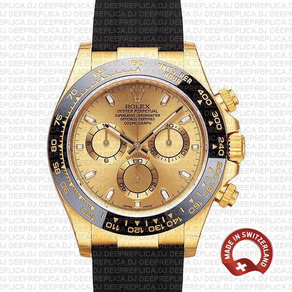 Rolex Daytona Yellow Gold 40mm   Best Swiss Replica Watch