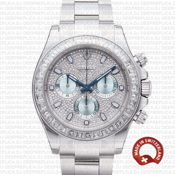 Best Rolex Daytona Platinum Replica | Stainless Steel Watch