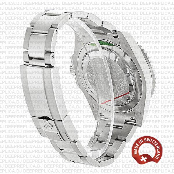 Rolex GMT-Master II White Gold Blue Dial Rolex Replica Watch