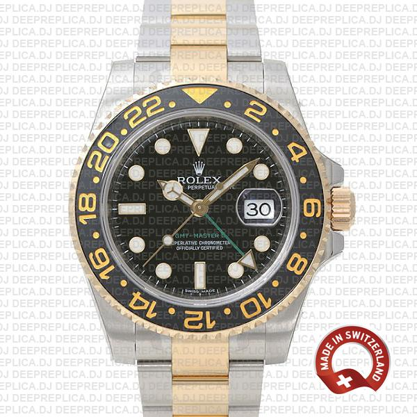 Rolex GMT-Master II 18k Yellow Gold | Two Tone Replica Watch