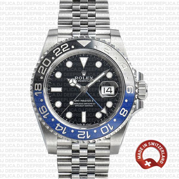 Rolex GMT-Master II Batman Ceramic Bezel Top Swiss Replica Watch