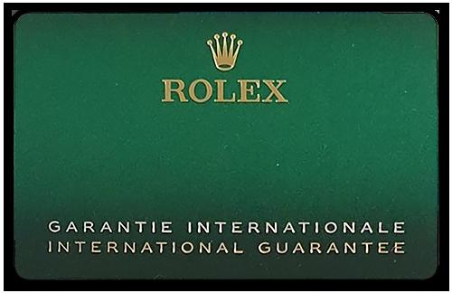 Rolex Card New