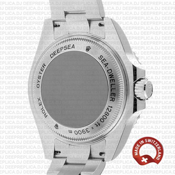Rolex Deepsea Sea-dweller 904l Steel Black Dial Ceramic Bezel 44mm 126660 Swiss Replica