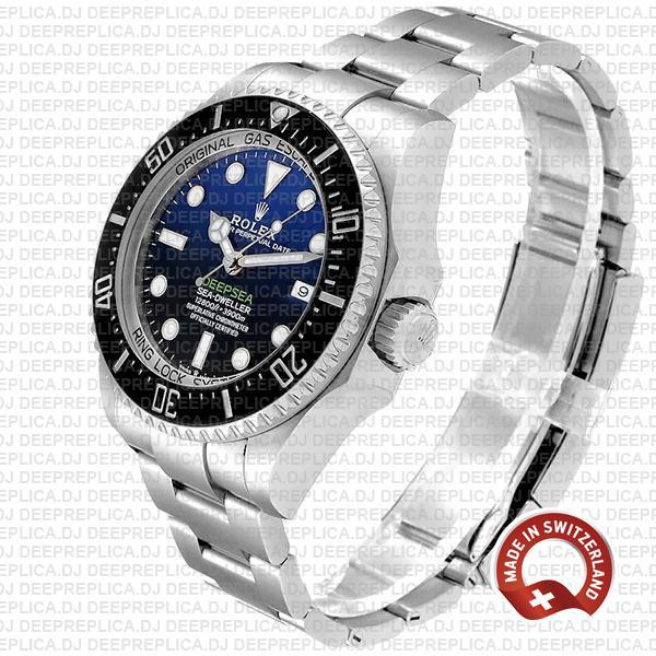 Rolex Deepsea D-blue Sea-dweller James Cameron 904l Steel Blue-black Dial 44mm 126660 Swiss Replica Watch