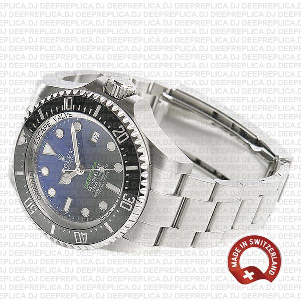 Rolex Deepsea D-Blue Sea-Dweller Blue-Black Dial 904L Steel 44mm 126660