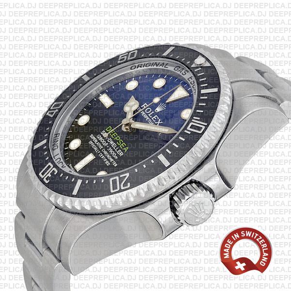 Rolex Deepsea Ss 44mm 116660 Swiss Replica
