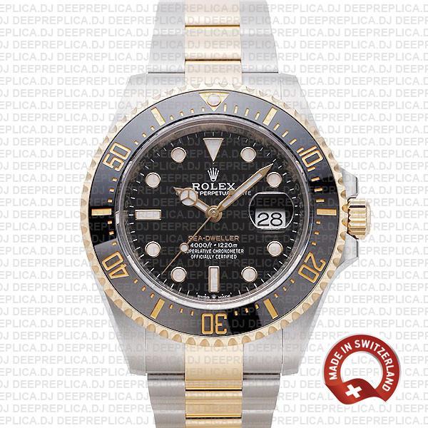 Rolex Sea-Dweller Two-Tone Gold | Best Swiss Replica Watch