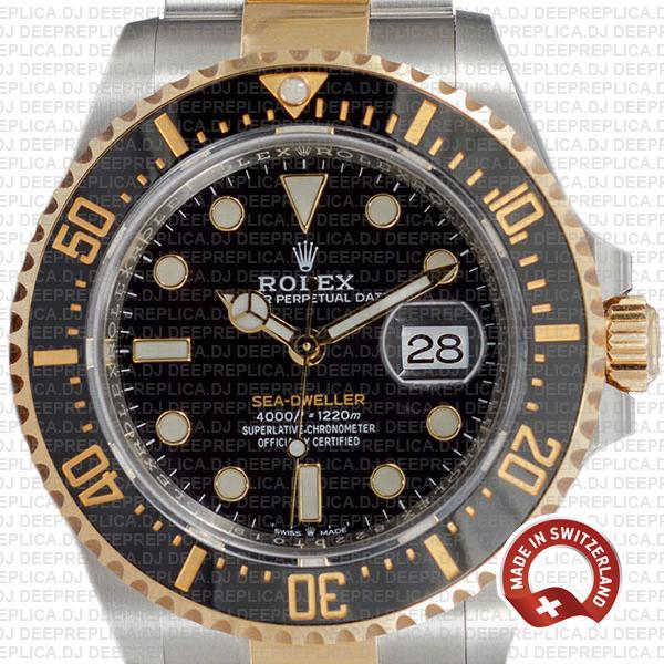 Rolex Sea-Dweller Deepsea 18k Yellow Gold, Two Tone in 904L Stainless Steel Ceramic Bezel