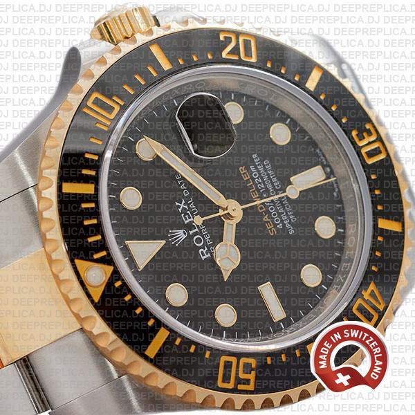 Rolex Sea-Dweller Deepsea 18k Yellow Gold, Two Tone in 904L Stainless Steel Ceramic Bezel 43mm