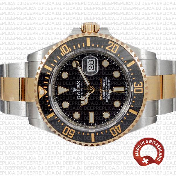 Rolex Sea-Dweller Two-Tone Gold Best Swiss Replica Watch