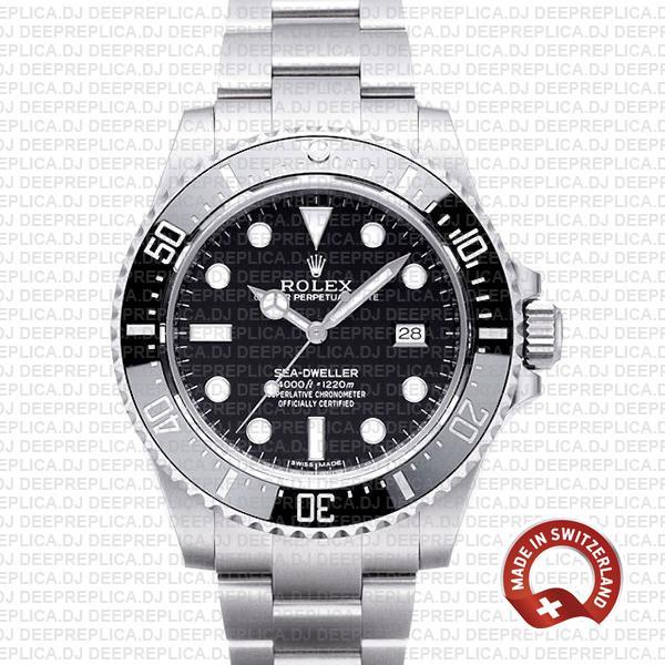Rolex Oyster Perpetual Sea-Dweller 40mm Swiss Replica Watch
