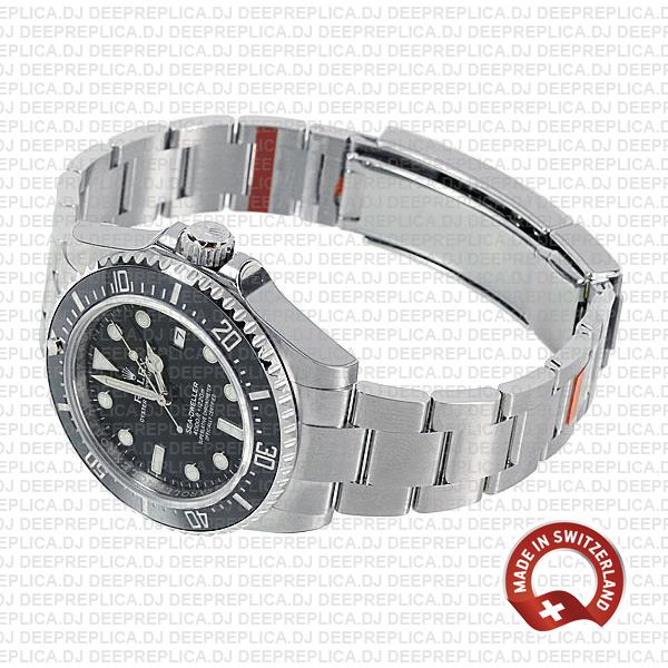 Rolex Sea-Dweller 40mm 904L Stainless Steel Black Dial with Ceramic Bezel