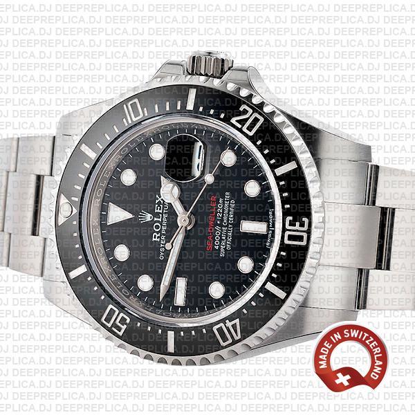 Rolex Sea-Dweller Stainless Steel Best Replica Date Watch
