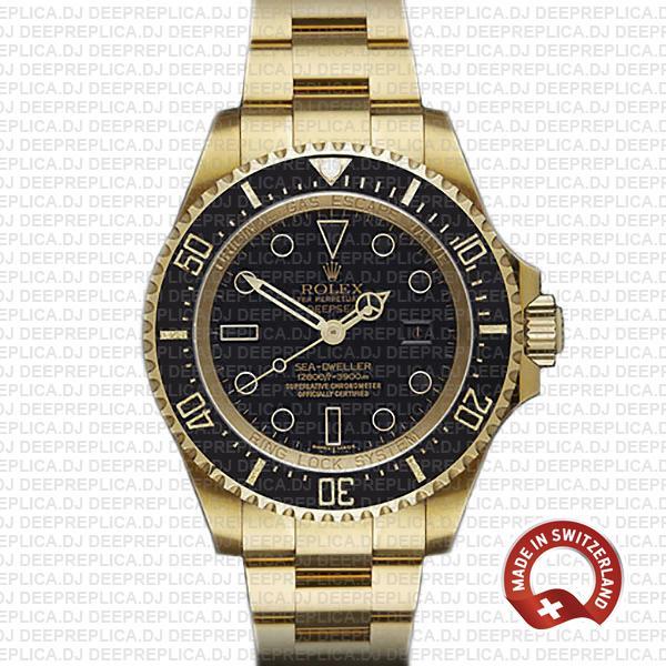 Rolex Sea-Dweller Deepsea Gold | Swiss Rolex Clone Watch