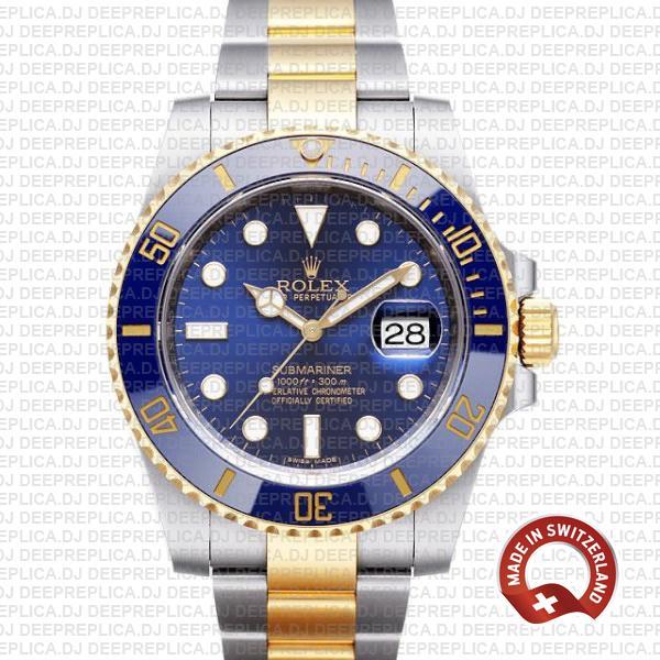 Rolex Submariner 2 Tone 18k Gold | Best Replica Rolex Watch