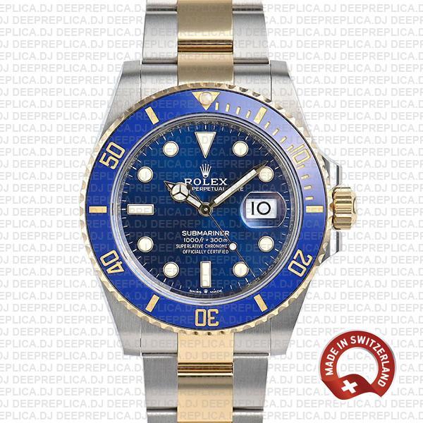 Rolex Submariner 2 Tone 41mm   Best Swiss Replica Watch