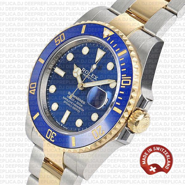 Rolex Submariner 2 Tone 41mm Best Swiss Made Replica Watch