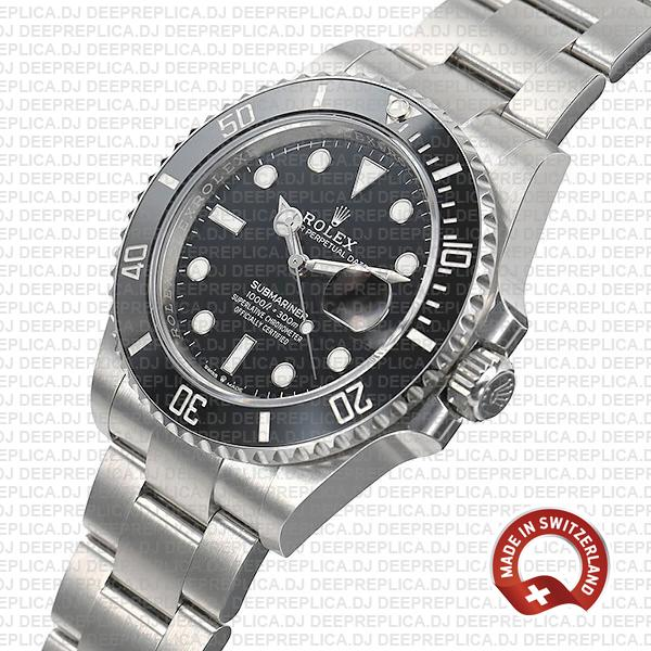 Rolex Submariner 904L Stainless Steel Black Ceramic Bezel 126610LN
