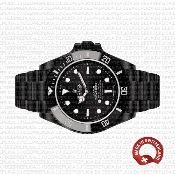 Rolex Submariner Blaken Black Dial Best Rolex Replica Watch